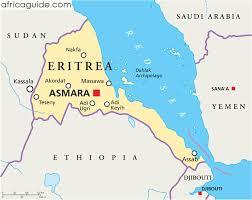 africa map eritrea eritrea guide
