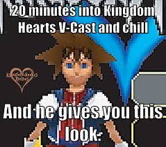 Kingdom Hearts Memes - friggin cellphone graphics kingdom hearts know your meme