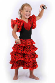 carnival costumes children spanish dress andalusia fancy dress
