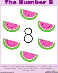 the number 8 worksheet education com