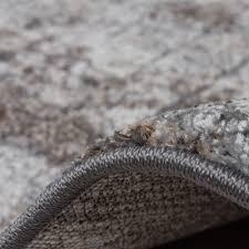 Wohnzimmer Beige Silber Edler Designer Teppich Wohnzimmer Natur Asphalt Optik Natur Braun