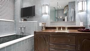 wallpaper designs for bathrooms bathroom vanities deco l mirror bath vanity wallpaper