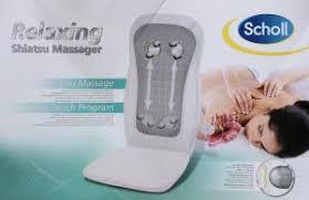 si e massant scholl surfauteuil scholl relaxing shiatsu massager et autres appareils de