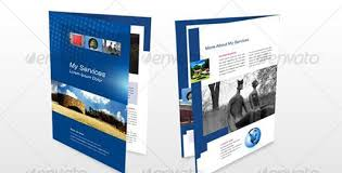 4 page brochure template reachcenter me