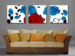 Canvas Without Frame 3 Pcs Floral Canvas Wall Art Cheap Oil Paintings Paintings For