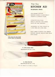 kitchen aid knives manufactured by colonial knife circa 60 u0027s