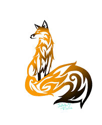 cool tribal fox designs to draw free download clip art free