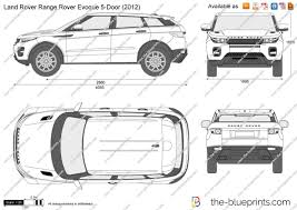 range rover evoque land rover the blueprints com vector drawing land rover range rover