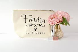 bridesmaids bags 10 pretty personalised makeup bags your bridesmaids will