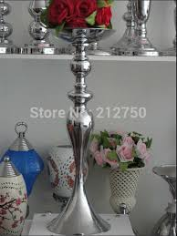 Tall Metal Vases For Wedding Centerpieces by Compare Prices On Wedding Flower Vases Wholesale Online Shopping
