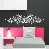 Headboard Wall Decal Headboard Wall Decals Bedrooms Wall Decals Decalmywall Com