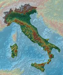 The Map Of Italy by Elevation Maps Of Italy France Usa Sweden And Norway Album On