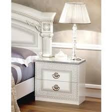 modern nightstands black white bedside nightstands with drawers