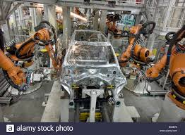 bmw factory mini clubman production line at the bmw factory at cowley oxford
