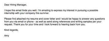 Email Body For Sending Resume And Cover Letter Sending Resume And Cover Letter Via Email