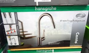kitchen faucets hansgrohe costco sale hansgrohe cento pull kitchen faucet 149 99