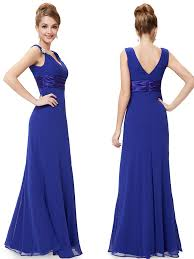 royal blue bridesmaid dresses chiffon empire royal blue bridesmaid dresses vintage blue