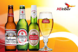 alcoholic drinks brands ab inbev bolstered by three global brands