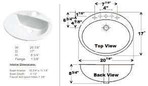 Standard Mirror Sizes For Bathrooms - standard size bathroom mirror sink dimensions sizes of counter