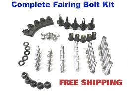 amazon com complete motorcycle fairing bolt kit suzuki gsx r 600