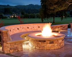 Outdoor Firepit Gas Decorate Pits For Outdoor Living Style Home Decorating