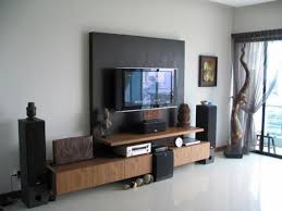 wall mounted lcd tv design ideas ryan house cabinets arafen