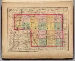Maps Of Michigan Map Of Montcalm County Michigan Walling H F 1873