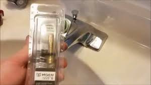 How To Repair A Leaky Moen Kitchen Faucet How To Fix A Leaky Moen Faucet Youtube