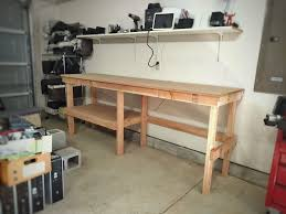 garage workbench 5 steps with pictures