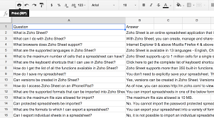 How To Use A Excel Spreadsheet Blockspring Tutorials U2013 Build A Q A Bot Using A Spreadsheet