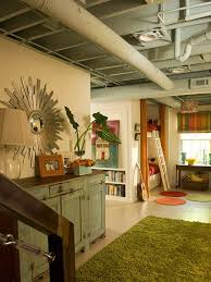 Small Basement Ideas On A Budget Best 25 Unfinished Basement Ceiling Ideas On Pinterest