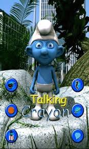 talking android talking crayon for android free talking crayon apk