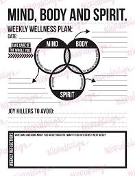 Health And Wellness Worksheets For Best 25 Wellness Plan Ideas On 21 Day Challenge