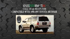 toyota 4runner key fob replacement how to replace toyota 4runner key fob battery 1990 1991 1992 1993