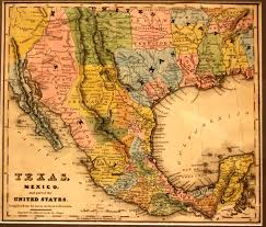 Map Of The United States And Mexico by Texas Mexico And Part Of The United States Yana U0026 Marty Davis