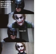 Dark Knight Joker Meme - image 14952 dark knight 4 pane know your meme