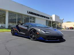 How Much Is A Centenario First Lamborghini Centenario Arrives In The United States At
