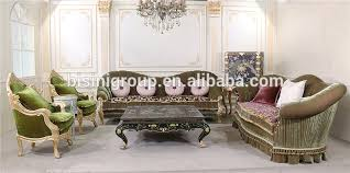 luxury italian high end royal grey leather sofa set new classical