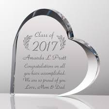 graduation gifts for heart personalized graduation gift