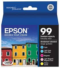 epson ink 99 light magenta amazon com epson claria t099920 hi definition 99 standard capacity