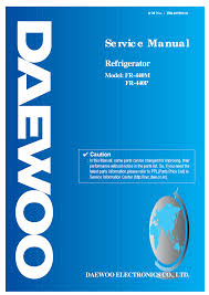 daewoo fr440 user manual documents