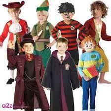 boys story world book day week character fancy dress costume