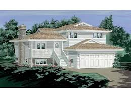 eplans split level house plan great for medium to narrow lots