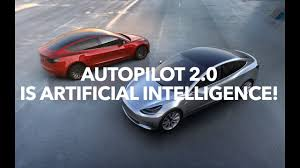 autopilot 2 0 is artificial intelligence and tesla hud model 3