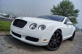 bentley blacked out bentley continental matte white wrap u2013 black powder coated