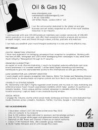 sample resume for oil and gas industry gallery creawizard com