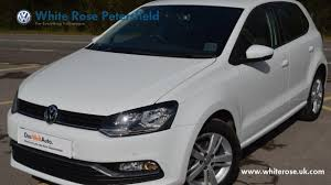 2016 vw volkswagen polo 1 0 60ps match 5dr manual pure white