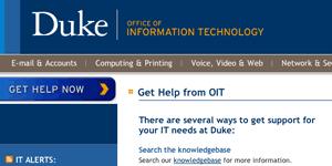 Sakai Help Desk Duke Sakai Support