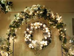garland decoration for tree decorating tree