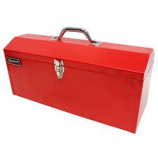 tool box homak 19 in metal tool box red rd00119819 the home depot